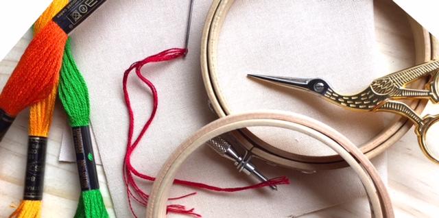 Embroidary accesories naconico